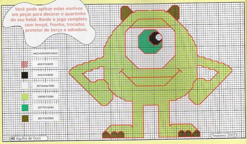 Punto de cruz dibujos animados imagui - Dibujos para hacer punto de cruz ...